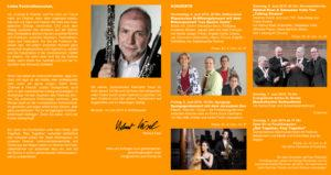 Festival-Flyer Clarinet & Friends